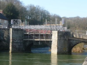 Ludford Bridge open again.