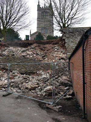 The walls came tumbling down. March 2013